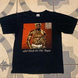 VTG '03 50 Cent Get Rich Or Die Tryin' Album Tee